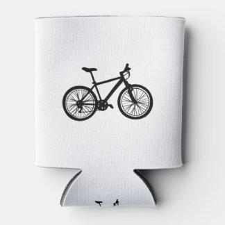 Griffonnage tiré par la main simple de bicyclette rafraichisseur de cannettes