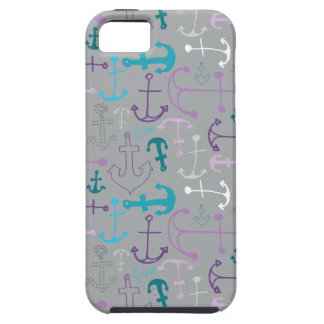 Griffonnages d'ancre coque Case-Mate iPhone 5