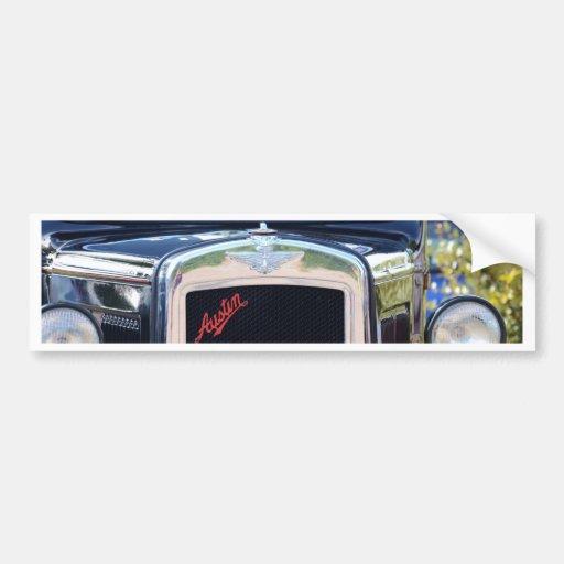 Gril de radiateur d'Austin A7 Adhésifs Pour Voiture