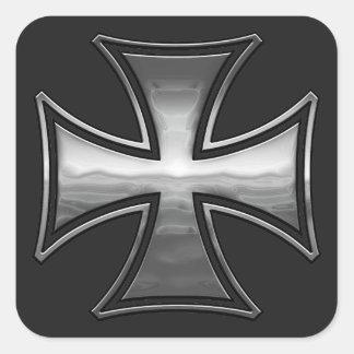 Gril maltais sticker carré