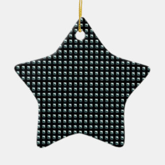 grille1 ornement étoile en céramique