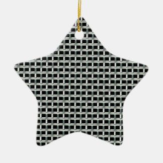 grille6 ornement étoile en céramique