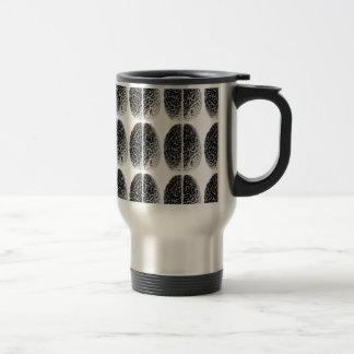Grille de cerveau mugs à café