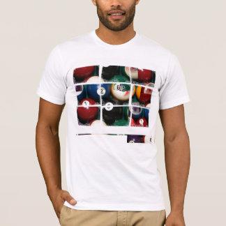 Grille de Close_Ups de billards - T-shirt