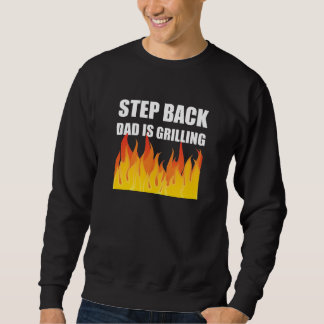Griller arrière de papa d'étape sweatshirt