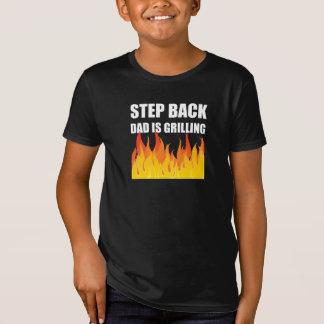 Griller arrière de papa d'étape T-Shirt