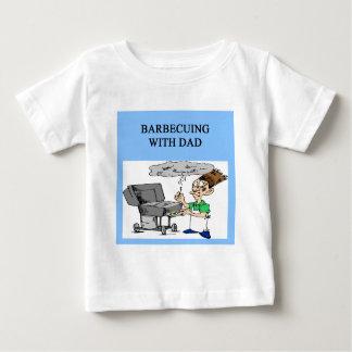 griller tout entier avec le papa t-shirt pour bébé