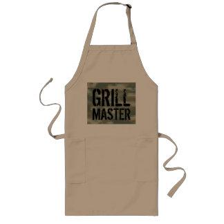 Grillez le tablier principal de BBQ avec le