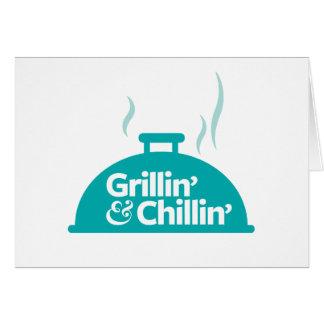 Grillin et Chillin Carte De Vœux