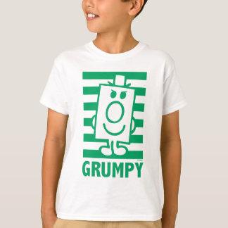 Grimace malfaisante de M. Grumpy | et rayures T-shirt