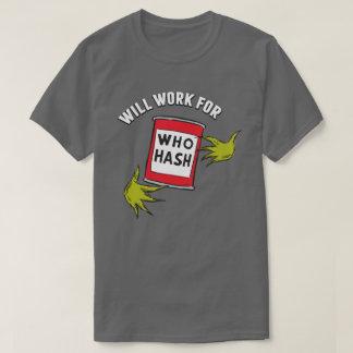 Grinch classique | fonctionnera pour qui gâchis t-shirt