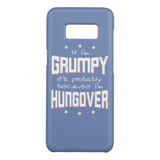 GRINCHEUX parce que HUNGOVER (blanc) Coque Case-Mate Samsung Galaxy S8