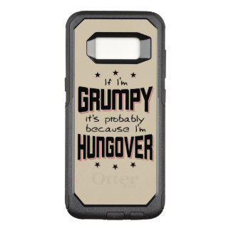 GRINCHEUX parce que HUNGOVER (noir) Coque Samsung Galaxy S8 Par OtterBox Commuter