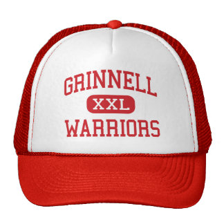 Grinnell - guerriers - haut - Grinnell le Kansas Casquettes