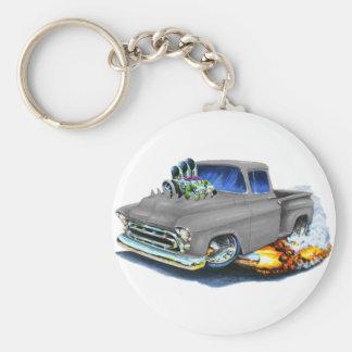 Gris 1957 de collecte de Chevy Porte-clés