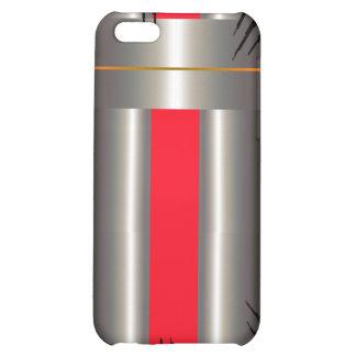 Gris bleu rouge étuis iPhone 5C