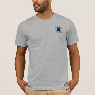 Gris de base du T-shirt des hommes de marais