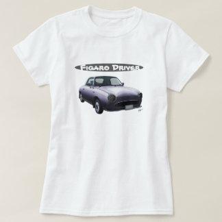 Gris de Lapis de T-shirt de conducteur de Nissan