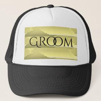 """""""Gris et or"""" personnalisés épousant le casquette"""