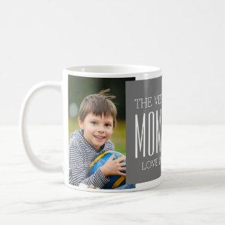 Gris fait sur commande de tasse du jour de mère de