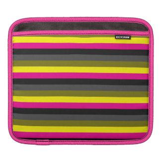 gris jaune au néon à la mode frais de dos de rose poches iPad