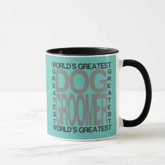 Groomer du plus grand chien des mondes mugs