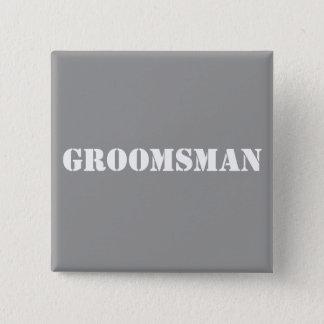 Groomsman Badge