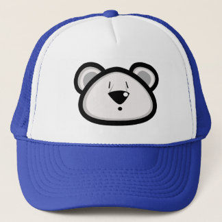 Gros casquette d'ours blanc