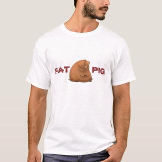 Grosse chemise de porc t-shirt