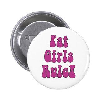 Grosse règle de filles ! Bouton Badge Rond 5 Cm
