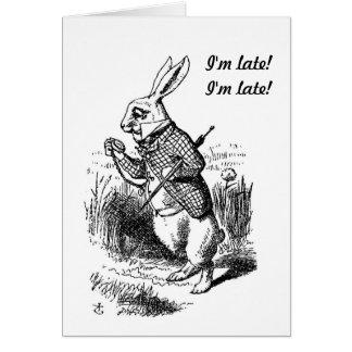 Grossesse - Alice dans la carte blanche de lapin