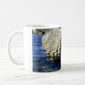 Grotte bleue, Malte Mug Blanc