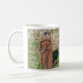 Groundhog Mug Blanc