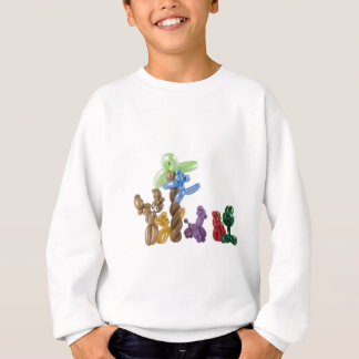 groupe animal de ballon sweatshirt