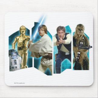 Groupe B de Star Wars Tapis De Souris