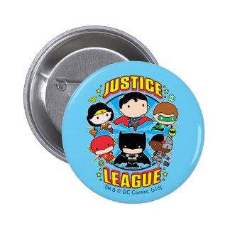 Groupe de ligue de justice de Chibi Badges