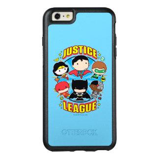 Groupe de ligue de justice de Chibi Coque OtterBox iPhone 6 Et 6s Plus