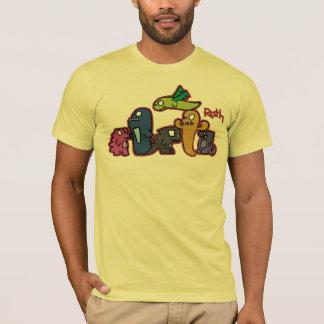 Groupe de monstres t-shirt
