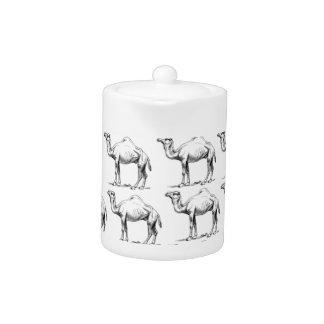 groupe de troupeau de chameaux