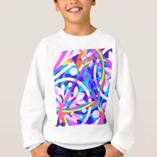 Groupe de variation de violette de couleur sweatshirt