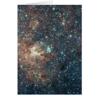 Groupe d'étoile massif inondé de Supergiants rouge Cartes