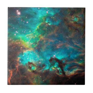 Groupe d'étoile renversant d'Aqua Petit Carreau Carré