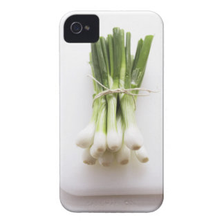 Groupe d'oignons de ressort sur le hachoir blanc coque Case-Mate iPhone 4