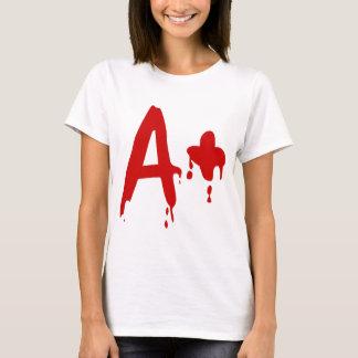 Groupe sanguin A+ Hôpital positif de #Horror T-shirt