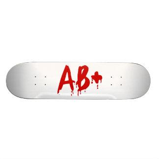 Groupe sanguin ab+ Hôpital positif de Horror Plateaux De Skateboards Customisés