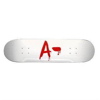 Groupe sanguin un hôpital négatif de Horror Plateaux De Skateboards