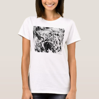 Groupe vert de lanterne t-shirt