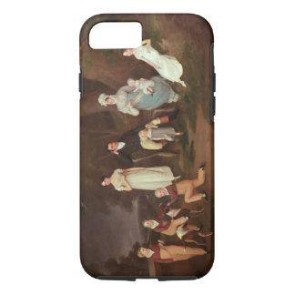 Groupez le portrait d'un châtelain, de son épouse coque iPhone 7