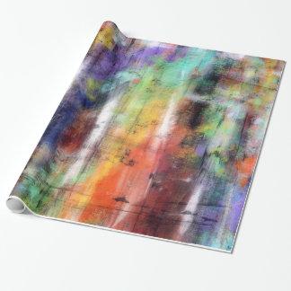Grunge artistique papier cadeau