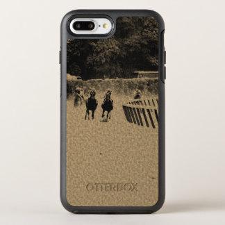 Grunge boueuse de voie de course de chevaux coque OtterBox symmetry iPhone 8 plus/7 plus
